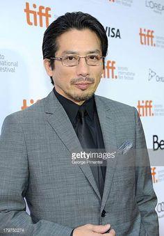Actor Hiroyuki Sanada arrives at 'The Railway Man' Premiere during the 2013 Toronto International Film Festival at Roy Thomson Hall on September 6...