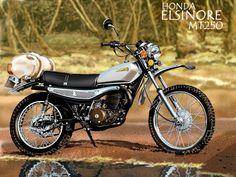 1975- Honda MT250 Elsinore Brochure
