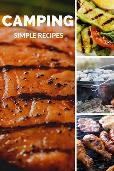 Everything tastes better over a campfire and eaten at a campsite. Get 101 desserts, entrees, chicken, chili and even jerky recipes! Jerky Recipes, Camping Accessories, Camping Meals, Entrees, Chicken, Desserts, Easy, Food, Camp Meals