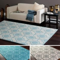 Shop for Hand-Tufted Athens Wool Rug (8' x 10'). Get free shipping at Overstock.com - Your Online Home Decor Outlet Store! Get 5% in rewards with Club O!