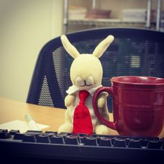 Monday's can be hard, but Kangarootbeer grabbed some coffee and got right to work this morning.