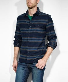 Levi's® Men's Union Shirt In Dress Blues