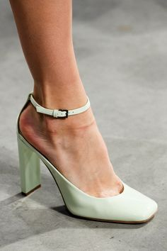 Love these shoes Rochas 2014