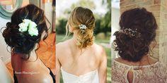 Moovcoiffure : des chignons simples et raffinés pour les plus belles mariées Simple Updo Hairstyles