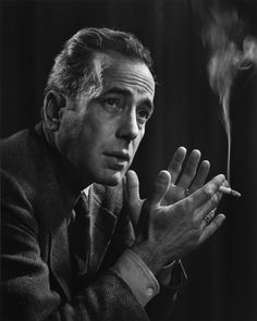 Humphrey Bogart, 1946 by Yousuf Karsh