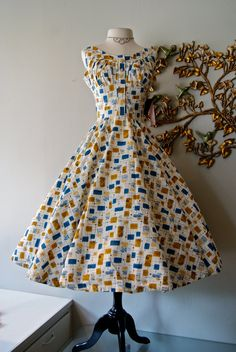 1950's Sun Dress. All For Mary ~ Redefining the salon experience ~ www.allformary.com