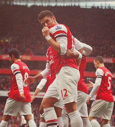 Giroud<3 #arsenal #fc