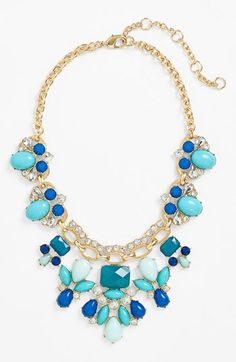 Lee by Lee Angel 'Capri' Bib Necklace | Nordstrom