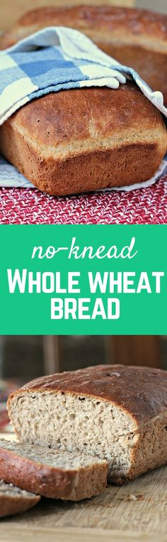 This no-knead whole
