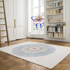 Tapis de chez Edito - collection antidote - graphique et contemporain