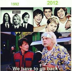 Nirvana, Back To The Future meme (amended version by bunniboila, original version said 1988 - obviously before Dave Grohl was even in Nirvana!)