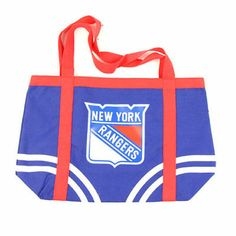 New York Rangers Large Canvas Tote Bag Visit our website for more: www.thesportszoneri.com