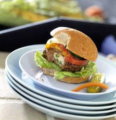 The spicy flavor of Cajun seasoning brings out the robust flavor of the beef in these burgers. Serve them at a cookout with a variety of toppers.