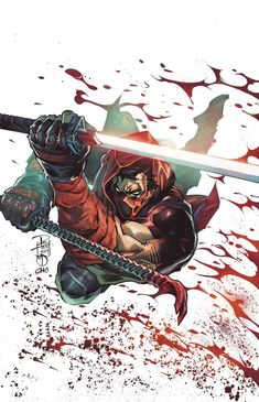 Red Hood Outlaw Cover B Variant Philip Tan & Marc Deering Cover Batman Comic Art, Gotham Batman, Batman Robin, Batman Red Hood, Red Hood Dc, Hood Wallpapers, Batman Kunst, Red Hood Jason Todd, Fighting Poses