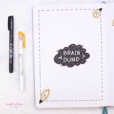 How to instantly reduce stress? With a brain dump of course! Here's how a brain dump can help you overcome overwhelm and get calm mind, plus a free printable brain dump template.