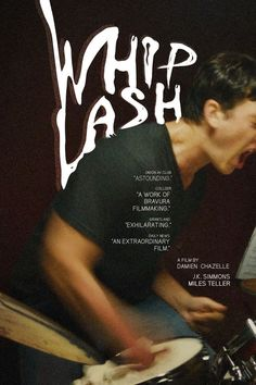 Whiplash, directed by Damien Chazelle Film Poster Design, Movie Poster Art, Poster Designs, Great Films, Good Movies, 8k Tv, Damien Chazelle, Alternative Movie Posters, Cinema Posters