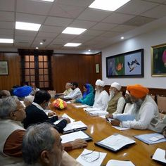 We attended the meeting of the Executive Committee of Govt. of India, constituted for the year long celebrations of 350th Birth Year of Sri Guru Gobind Singh Ji. #HarsimratKaurBadal #FoodProcessing