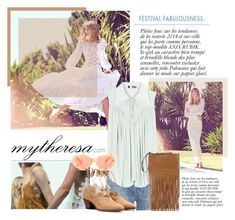"""""""Let The Sunshine In With mytheresa.com: Contest Entry"""" by fattie-zara ❤ liked on Polyvore featuring Anja, Mother, Chloé, Charlotte Olympia, Miu Miu and Acne Studios"""