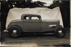 Portrait Hot Rod Hayride - Nic's Ford 32 coupé