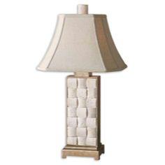 Uttermost Travertine Table Lamp 26512