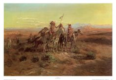Scouts Art Print by Charles Marion Russell at Art.com