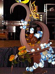 FOOD NETWORK SUGAR ART CONTESTS   Chocolate Showpiece from the Food Network Challenge!
