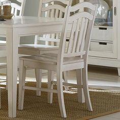Liberty Furniture Summerhill Slat Back Dining Side Chair