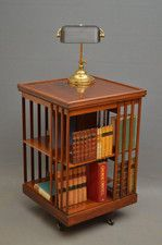 I adore these revolving book stands!