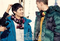 GOT7 bundle up for winter in down jackets for 'The Star' | allkpop.com