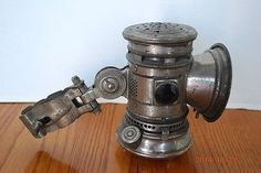 ANTIQUE BICYCLE LAMP in Collectibles | eBay