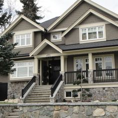 Vancouver Traditional Exterior Paint Colors Exterior Design, Pictures, Remodel, Decor and Ideas - page 2