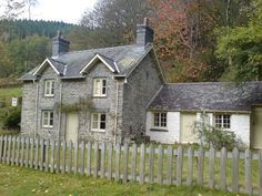 most of the houses in Greylands Welsh Cottage, Cute Cottage, Cottage Farmhouse, Cottage Style, Stone Cottages, Cabins And Cottages, Stone Houses, Country Cottages, Vernacular Architecture