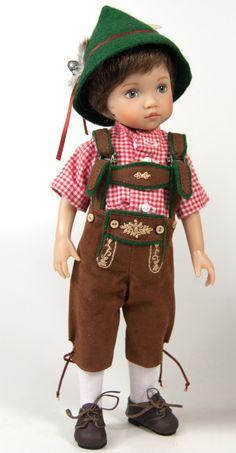 Boneka Seppl by Dianna Effner 24cm/10
