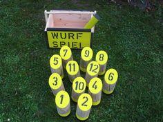 Holzwurfspiel  ( Dortmund ) von  Outdoorspieler auf DaWanda.com