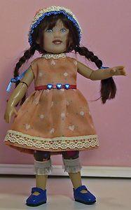 "7.5"" Kish Kiley doll handmade outfit."