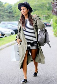 Imagine all the outfits you could plan around this trench coat.