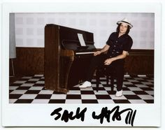 Jack White is auctioning the piano used to record Elephant for a Polish charity, aww.