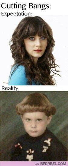 Nice haircut in reality