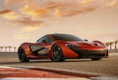 Because every man is still a ten year old, lusting after a cartoon racecar. | McLaren's 903hp P1 Hybrid Supercar - Own - Thrillist Nation