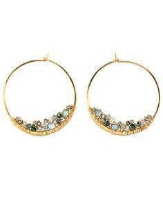 Dana Kellin Fine Jewelry - Cluster Hoop Earrings