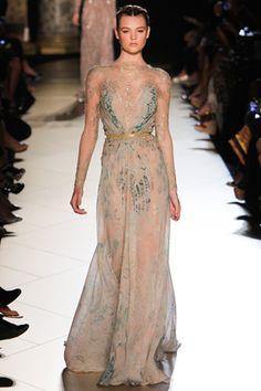 Best of Paris Fashion Week: Elie Saab Fall 2012 Couture Collection, Photo: Alessandro Garofalo / GoRunway