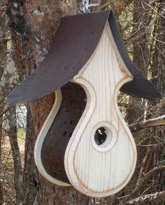 Wooden BIRD HOUSES Outdoor Birdhouse Bird Hosues