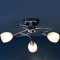Swirl 3-Light Ceiling Fitting