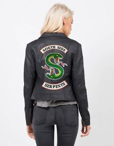 IRON ON PATCH Riverdale Jacket diy South Side Serpants