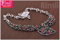 Oxidised Necklace! Ideal for sarees & Indo-western! Jewellery for saree.