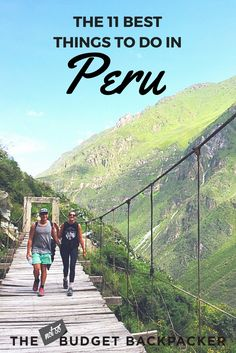This is my Peru hit list. The top 11 things to do in Peru before you leave. You'll be kicking yourself if you miss these! / Peru itinerary / Peru travel / What to do in Peru / Fun things to do in Peru / Unique things to do in Peru / Travel Peru / Where to go in Peru / Peru travel guide / Things to do in Peru Bucket lists