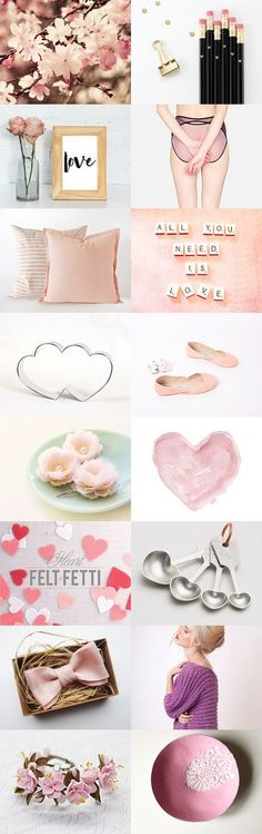:::: All you need is love :::: by Laliv Katziry on Etsy--Pinned with TreasuryPin.com