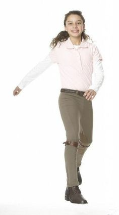 Ovation Euroweave Pull-on Breech Childs by Ovation. $48.43. Ovation EuroWeave Child's Pull-on Breech. Pull-on Clarino knee patch breech with belt loops, and gripper elastic bottoms.