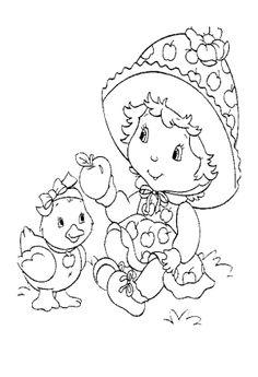 desenho moranguinho baby