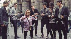 Dolce & Gabbana en campagne photo dans la rue